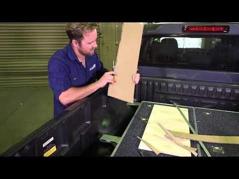 DIY Universal Wing Kit - Titan 1300mm Ute Drawer Installation Video