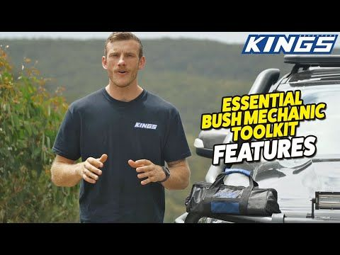 Adventure Kings Essential Bush Mechanic Toolkit Features