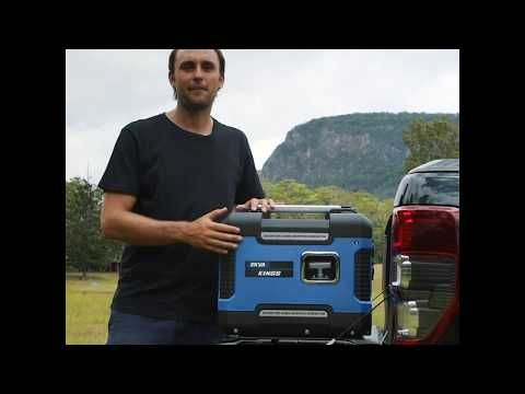 The 2kVA Peak Power enclosed generator has been engineered to be quietest generator we have every sold!