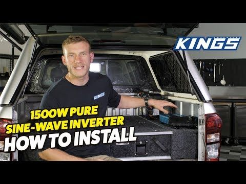 Adventure Kings Inverter - How to Install