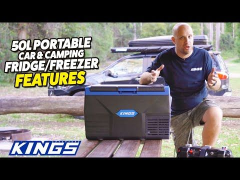 Adventure Kings 50L Portable Car & Camping Fridge/Freezer Features