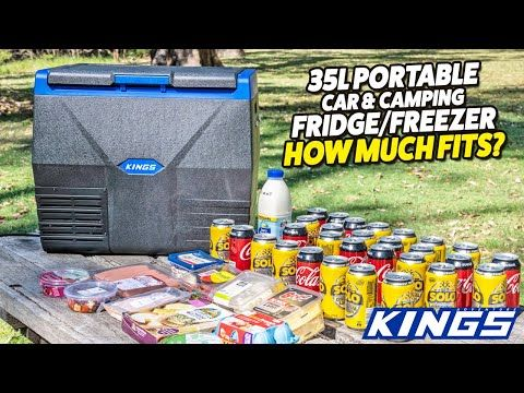 Adventure Kings 35L Portable Car & Camping Fridge Freezer - How Much Fits?
