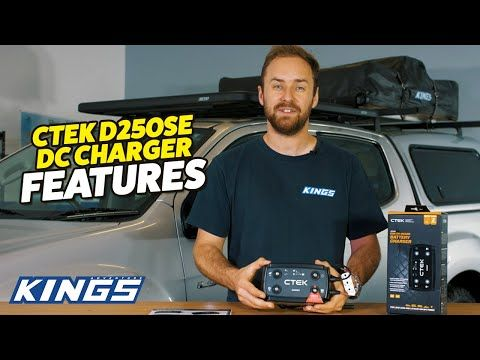 CTEK D250SE DC Charger Features