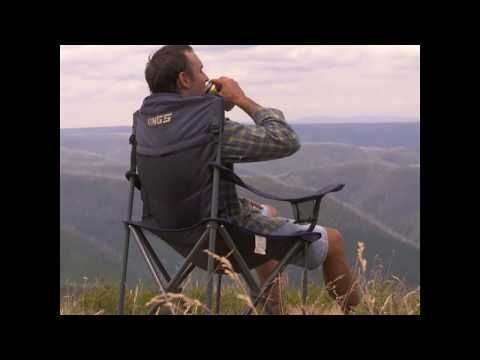Everyone needs a camp chair, and the Adventure Kings Throne Camp Chair is the one to choose
