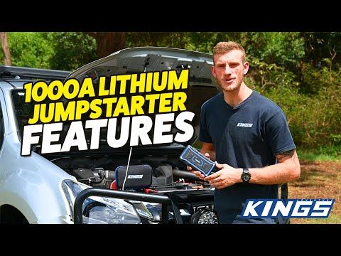 Adventure Kings 1000A Lithium Jumpstarter Features