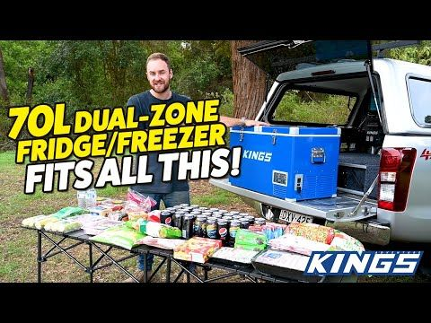 Adventure Kings 70L Fridge Fits All of This!