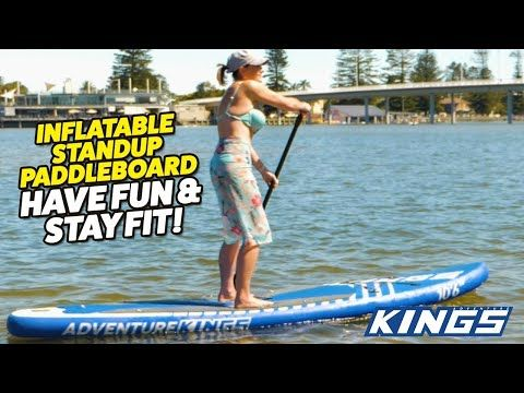 Adventure Kings Inflatable Standup Paddleboard - Have Fun & Stay Fit!