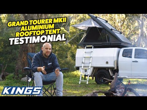 ALL you need to know about the Kings Grand Tourer MKII Rooftop Tent | Real Life Testimonial