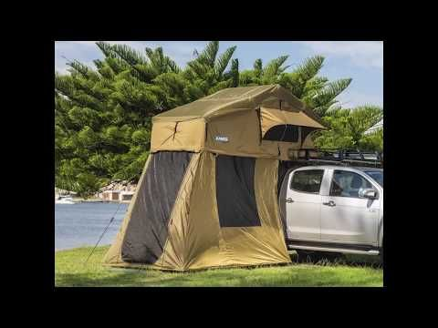 Adventure Kings Roof Top Tent is so versatile turn it into a 4 or 6-man Tent by adding an Annex!