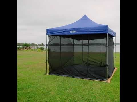 Imagine where you could use this multi-purpose Gazebo - add walls, a mozzie net or create a room