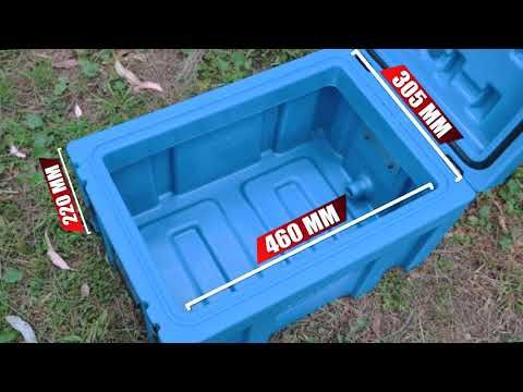 Adventure Kings 45L Front opening Storage Box Features