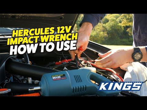 Hercules 12v Impact Wrench How to Use