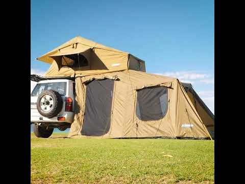 Check out the Roof Top Tent and 6 man Annex from Adventure Kings!