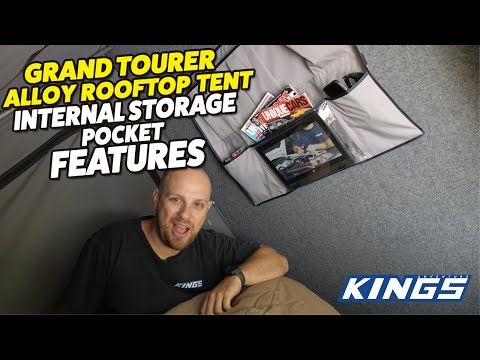 Adventure Kings Grand Tourer Internal Storage Pocket Features