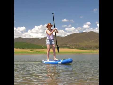The Adventure Kings Inflatable Stand Up Paddleboard is insane amounts of fun and so easy to use!