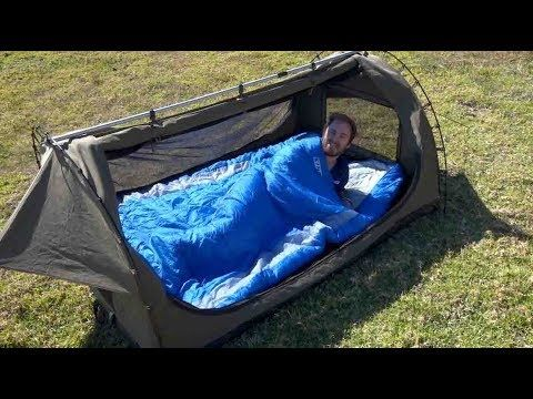 Adventure Kings Big Daddy Deluxe + Sleeping Bag Combo