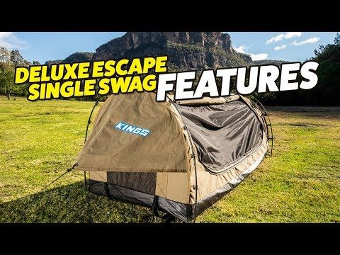 Deluxe Escape Single Swag Features