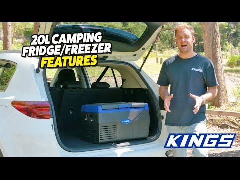 Adventure Kings 20L Portable Car & Camping Fridge/Freezer Features