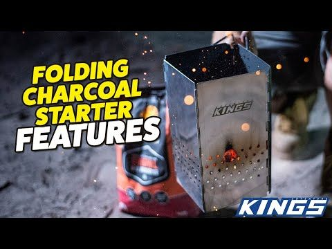 Say goodbye to petroleum-based fuels at camp – cook low & slow with a Kings Charcoal Starter!