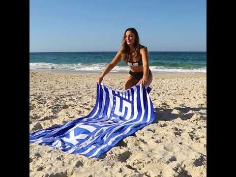 Adventure Kings Beach Towel will keep you comfy all year round!