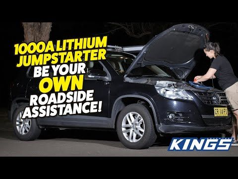 Adventure Kings 1000A Lithium Jumpstarter Be Your Own Roadside Assistance