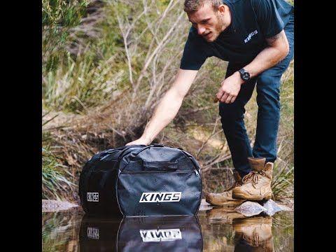 Kings Heavy-Duty PVC Duffle Bags – So Waterproof They Float!