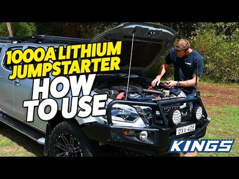 Adventure Kings 1000A Lithium Jumpstarter How To Use