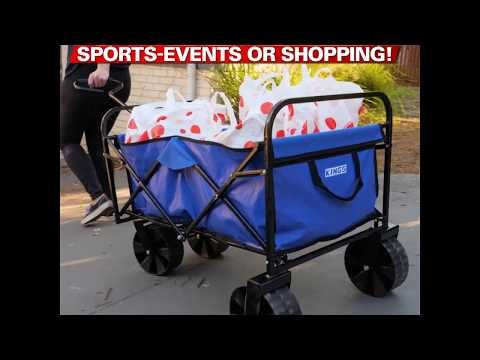 Adventure Kings Collapsible Cart Features