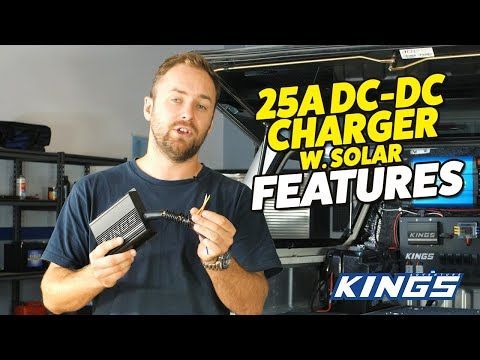 Adventure Kings 25A DC Charger Features