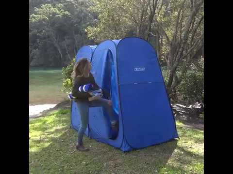 How to pack up Adventure Kings Double Shower Tent
