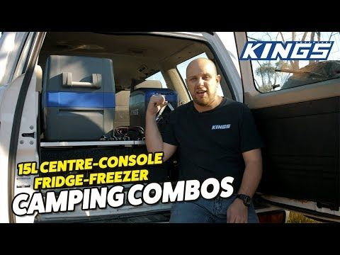 Adventure Kings 15L Centre Console Fridge Freezer Camping Combos