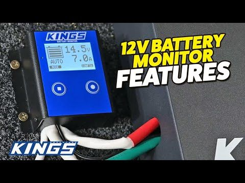 Kings 12V Battery Monitor Features