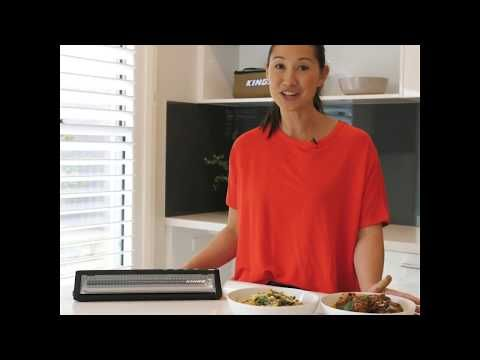 The Vacuum Sealer from Adventure Kings can save you time and space!