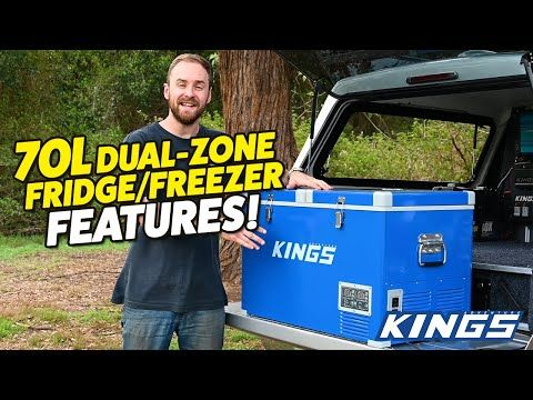 Adventure Kings 70L Fridge Features
