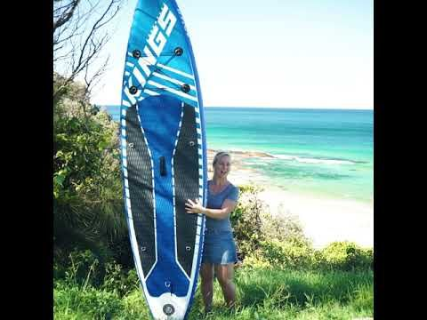 Adventure Kings Inflatable Standup Paddleboard What's In The Box?