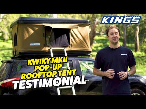 An EXPERT review on the NEW Kwiky MKII Hard Shell Rooftop Tent | Watch before you buy!