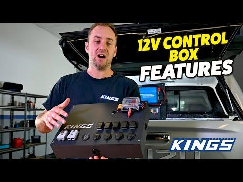 Adventure Kings 12v Control Box Features
