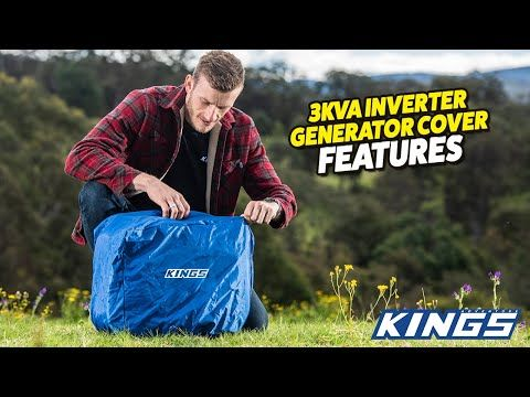 Adventure Kings 3kVA Inverter Generator Cover Features